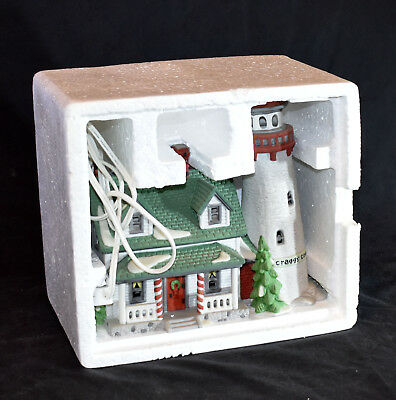 Department 56 New England Village: Craggy Cove Lighthouse p/n 5930-7