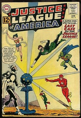 Justice League of America #12 VG+