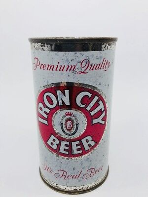 Iron City Beer - Flat Top Can. 1950's... Pittsburgh, Pennsylvania - PA