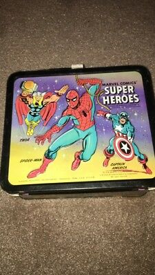 Marvel Comics Metal Lunch Box