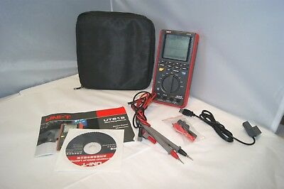 UNI-T UT81B Digital Oscilloscope, Used, Leads, Accessories Included Works Great!