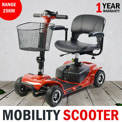 New Portable Foldable Electric Mobility Scooter Pull-Apart 24V, 12AH Batteries