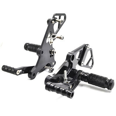 CNC Rear Sets Foot Pegs Foot Rest Rearsets For Yamaha FZ07 MT07 2014-2017 15 16