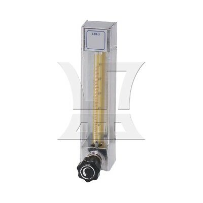 Acylic Clear Oxygen Flowmeter with 3/10in Hose Thread and Control Valve