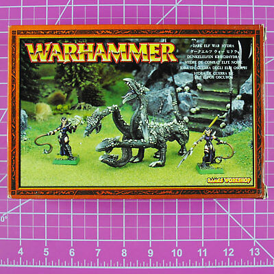 Warhammer Fantasy Dark Elf War Hydra, Metal - OOP - Games Workshop Citadel Elves