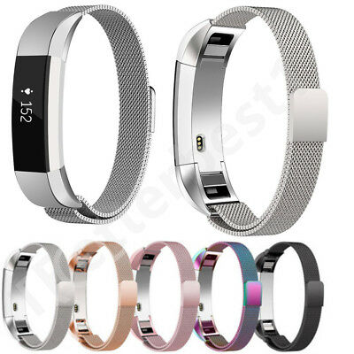 For Fitbit Alta / Alta HR Gar Magnetic Milanese Stainless Steel Watch Strap UK
