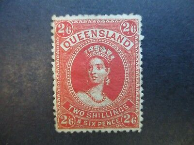 Queensland Stamps: 2/6 Chalon Mint  (j54)