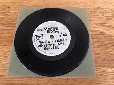 "Rare Single Sided 7"" Acetate - Dexy'S Midnight Runners - Come On Eileen !"