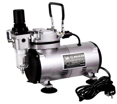 AS182 Airbrush Oil Free Piston Type Air Brush Compressor