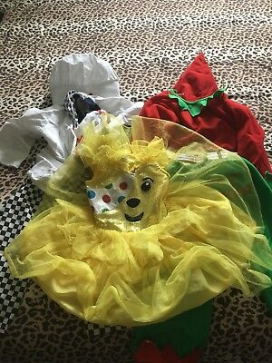Childrens dressing up costumes 3-4 year's