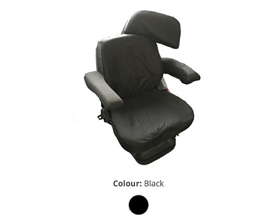 Grammer Maximo Dynamic Plus - Tractor Seat Cover (T9BLK) - Town & Country Covers