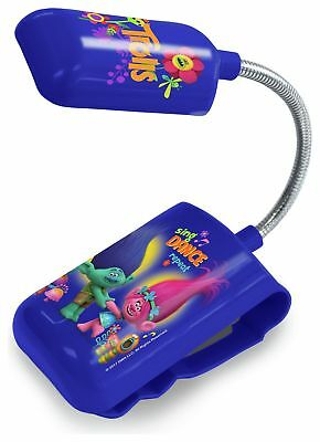 Trolls 3 in 1 LED Bed Light IP Rating 20 Battery Operated 3+ Years
