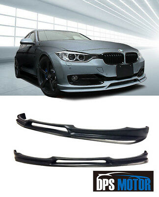 3D Urethane Front Bumper Lip Chin Spoiler Body kits For 12-18 BMW F30 3-Series