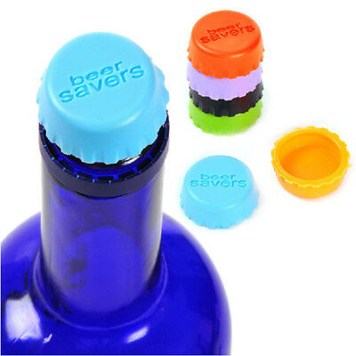 6x Caps Snap Bottle Top Can Cover Fizz Coke Drink Soda Lid Cap Reusable AU STOCK