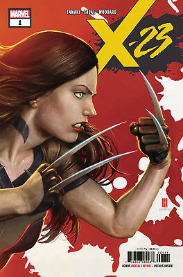X-23 #1 Vol 4 -  1St Print -  Marvel  - Bagged And Boarded. Free Uk P+P!