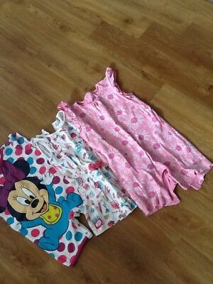 Bundle Of Girl Playsuits 12-18 Months
