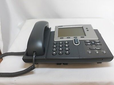 Cisco IP Phone 7940 Series CP-7940G with Handset and Curly 68-1735-08