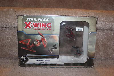 Fantasy Flight Xwing Miniatures Game Imperial Aces Expansion