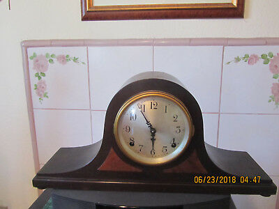 Antique Seth Thomas 89 J Chime Mantel Clock,very Nice Running Great With Key