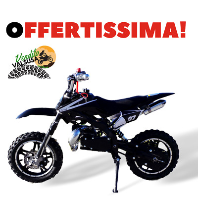 Mini moto cross 50 minimoto bambino minicross Orion black