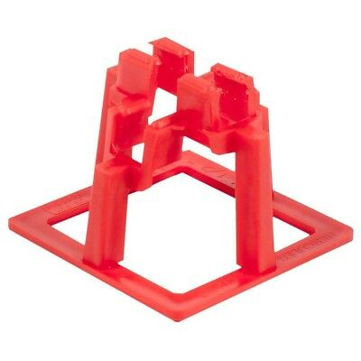 50 Pack Hercules 1-1/2 Inch Rebar Chair Support System Concrete Cement Holder