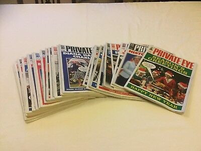Private Eye - 2017 complete year 26 Issues 1435-1460