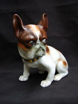 "Trico China Porcelain 5"" French Bulldog Frenchie Boston Terrier Dog"