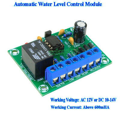 AC/DC 12V 10A Liquid Level Controller Switch Water Level Detection Sensor Board