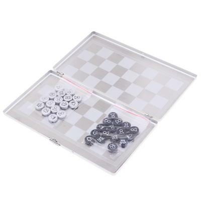 Portable Mini Magnetic International Chess Set Board Game Chess Pieces Games