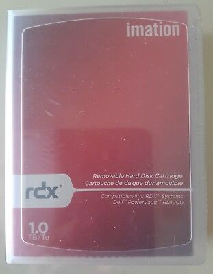 Imation RDX 1 TB, NEU & OVP, Data Cartridge Speichermedium (Neupreis 130 Euro)
