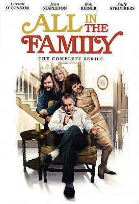 All In The Family The Complete Series Season 1-9 (28-DVD 2012) Archie Bunker New