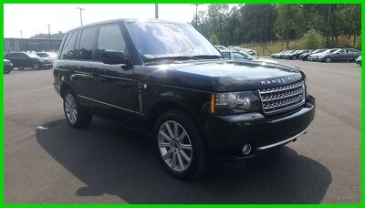 Land Rover Range Rover Supercharged 2012 Supercharged Used 5L V8 32V Automatic 4WD SUV Premium Moonroof