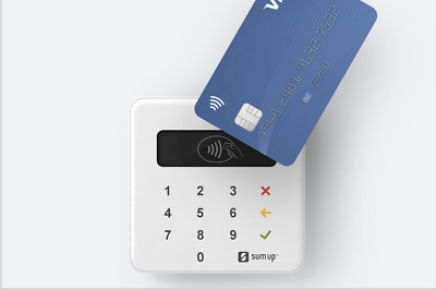 SumUp Chip and Pin Card Reader - Contactless - No Monthly Fee