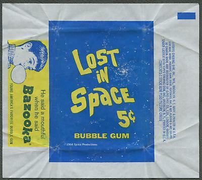 1966 Topps Lost In Space Wrapper