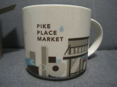 Starbucks Pike Place Market You Are Here Collection From the Original Starbucks