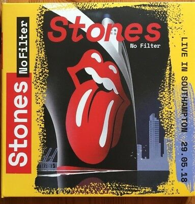 """THE ROLLING STONES : """"Live In Southampton 2018"""" (RARE 2 CD)"""