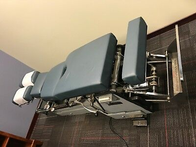 Zenith 220 Vertilift Elevation Hylo Chiropractic Adjusting Table w/ Drops