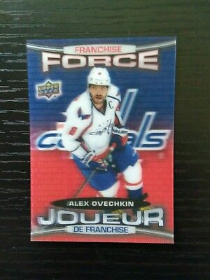 2016-2017 Tim Hortons Collector's Series Franchise Force Alex Ovechkin