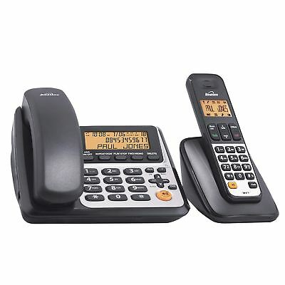 Binatone Concept Speakeasy Combo 3525 Corded & Cordless DECT Telephone New
