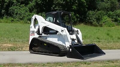 2006 Bobcat T300 Gold Package Track Skid Steer, Acs Controls, & Cab