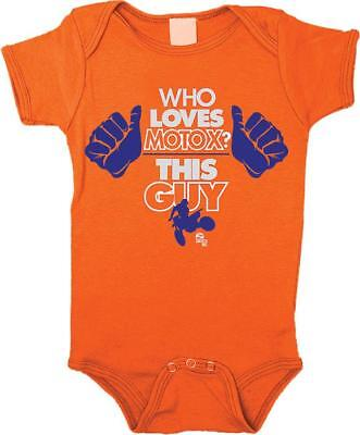Smooth Industries Infant This Guy Romper Orange 12-18 Months