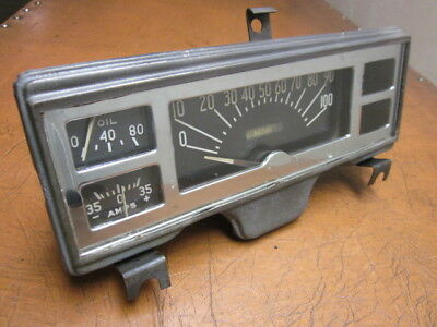 47,48,49,plymouth,p15 Coupe,sedan,dash,guage,cluster,speedometer,oil,amp.