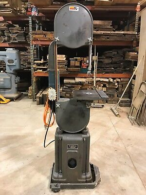 """Delta Rockwell 14"""" Bandsaw/18"""" Re-Saw Capacity/Carter Guides/Single Phase 1.5 HP"""