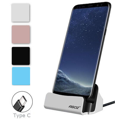 Desktop Dock Stand Station Cradle Type-C Charger Supports FAST Charging For LG