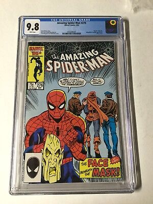 Amazing Spider-man 276 Cgc 9.8 White Pages