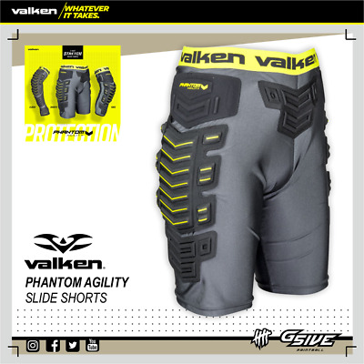 VALKEN Phantom Agility Slide Shorts L/XL Paintball Protection NEU