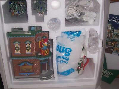 Dept 56 Snow Village Saturday Morning Downtown Set Of 8 New In Box Retired