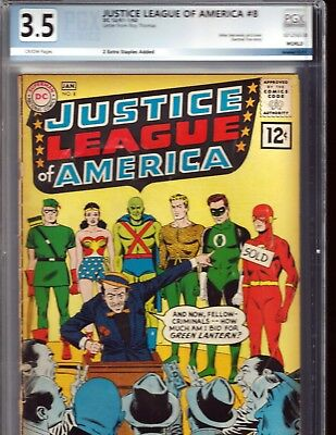 Justice League of America #8 (Dec 1961-Jan 1962, DC)