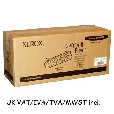 6300/6350 Fuser 220V 115R36 115R00036 Xerox Phaser New Genuine Original Kit