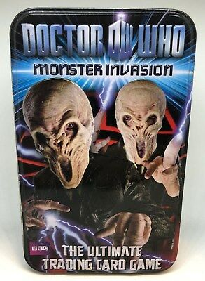 Doctor Who Monster Invasion Rare Trading Cards Limited & Extreme Edition